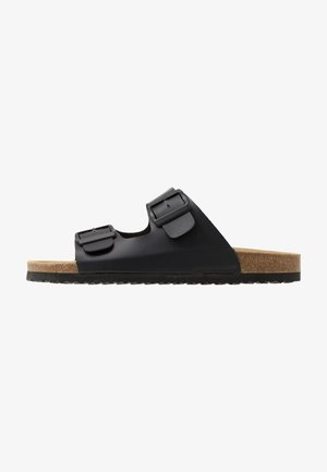 UNISEX - Slippers - black