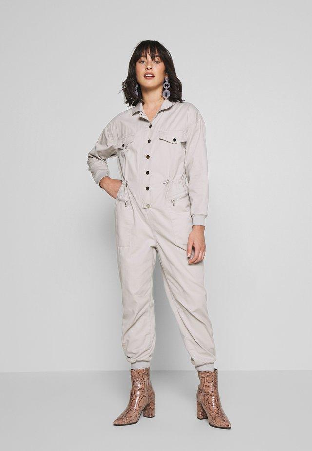BROOKE BOILERSUIT - Jumpsuit - grey