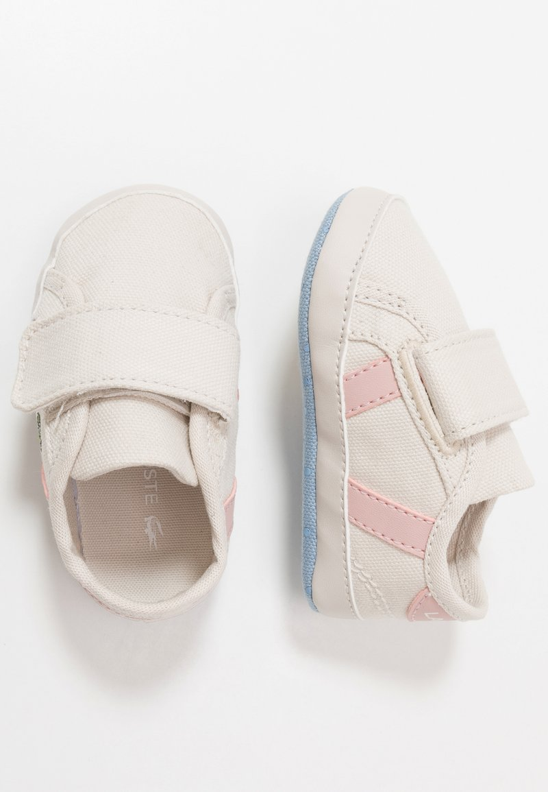 Lacoste - SIDELINE  - Baby gifts - offwhite/light pink