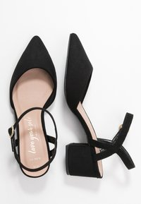 New Look Wide Fit - WIDE FIT SAMIRA - Tacones - black - 3