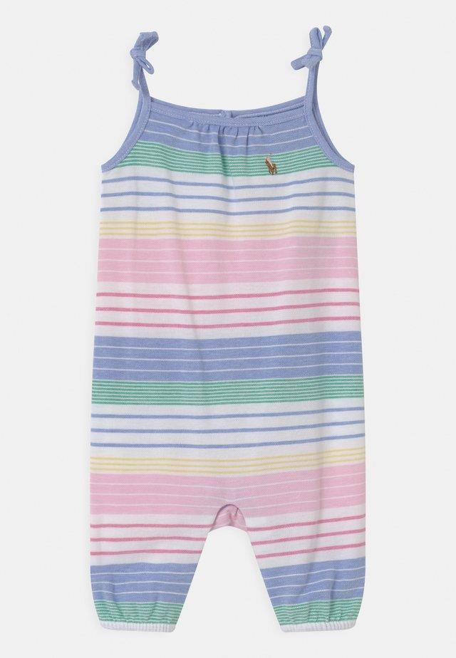 ONE PIECE - Tuta jumpsuit - green/pink/multi
