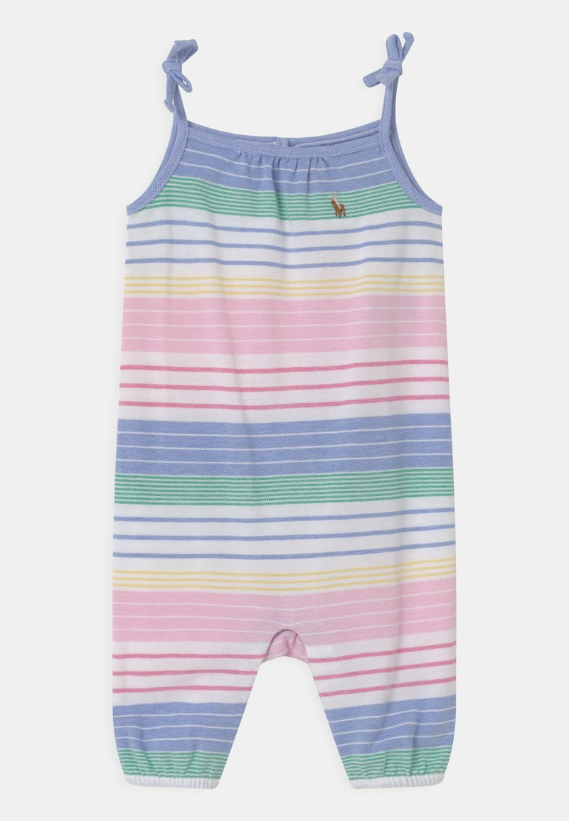 Polo Ralph Lauren - ONE PIECE - Jumpsuit - green/pink/multi