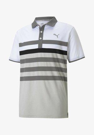 Polo shirt - quiet shade-puma black
