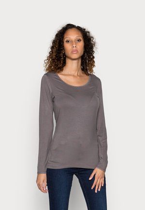 ESSENTIAL LACE - Longsleeve - volcanic glass