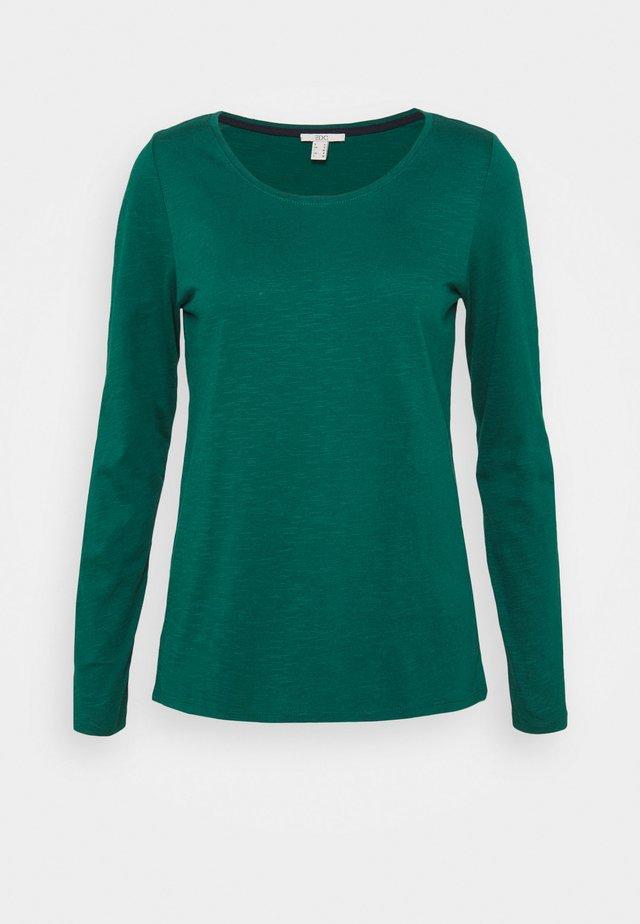 FLOW CORE  - T-shirt à manches longues - dark teal green