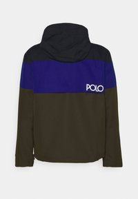 Polo Ralph Lauren - COLOR-BLOCKED HOODED JACKET - Summer jacket - army multi - 1