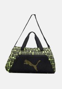 BARREL BAG - Sports bag - black/bright gold