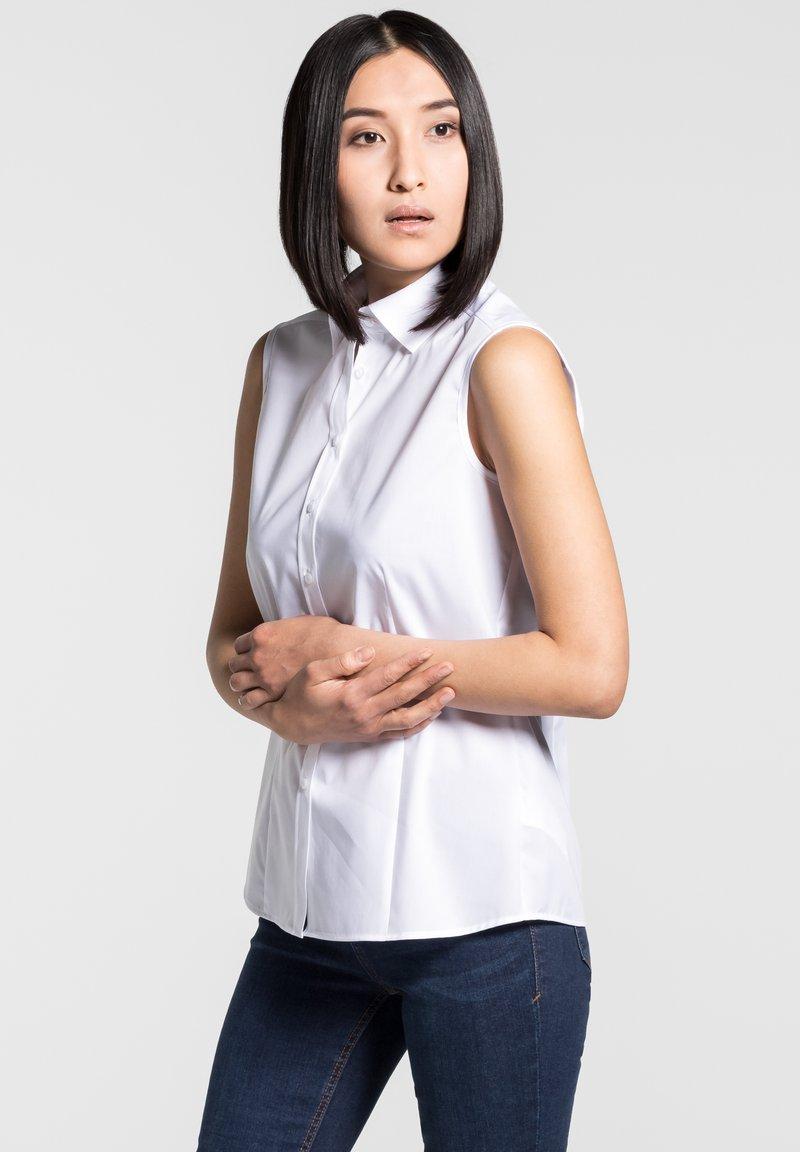 Eterna - DAMEN  - Button-down blouse - white