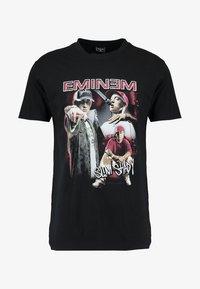 Mister Tee - EMINEM SLIM SHADY  - Print T-shirt - black - 4