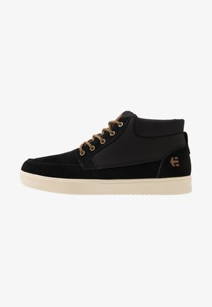 CRESTONE MTW - Skate shoes - black/tan