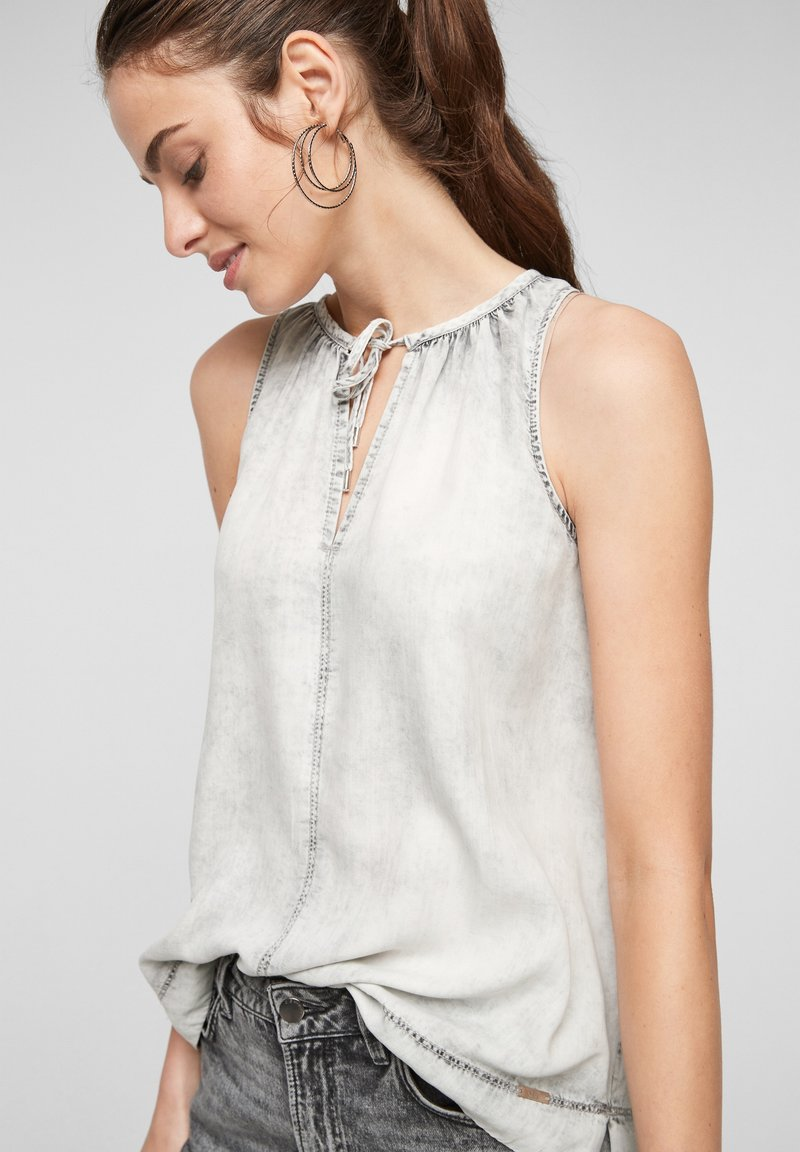 QS by s.Oliver - Top - grey