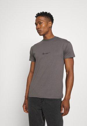 ESSENTIAL REGULAR TEE - Basic T-shirt - charcoal