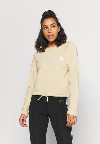 Sweatshirt - hazbei/white
