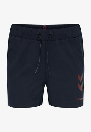 PRO GAME SHORTS WOMAN - Sports shorts - black iris