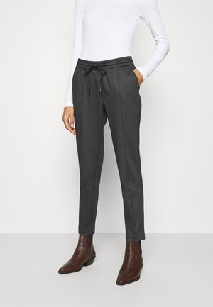 7/8 - Trousers - black glen