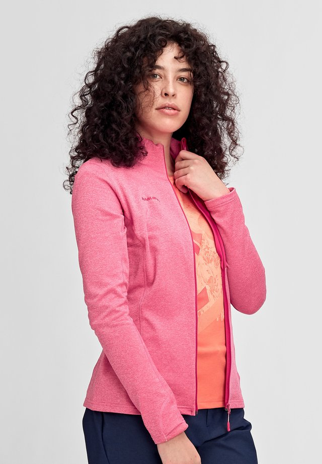 ACONCAGUA - Zip-up hoodie - light pink
