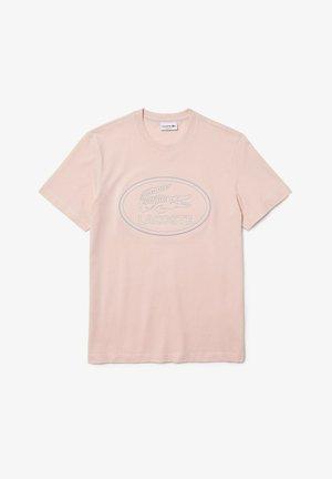 Print T-shirt - rose pale