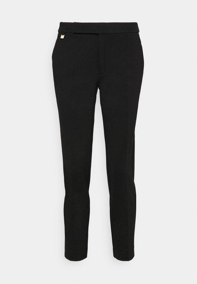 MODERN PONTE PANT - Kalhoty - polo black