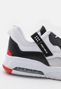 Jordan - MA2 UNISEX - Basketball shoes - white/black/university red/light smoke grey/praline - 5