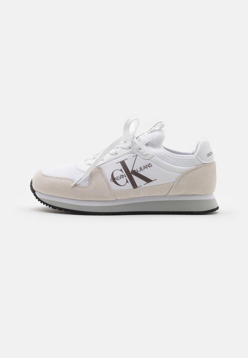 Calvin Klein Jeans - RUNNER SOCK LACEUP  - Tenisky - bright white