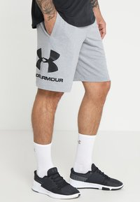 Under Armour - Korte broeken - steel light heather/black - 0