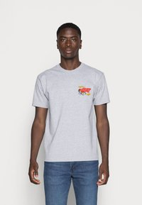 Obey Clothing - OBEY SCORPION - Printtipaita - heather grey - 2