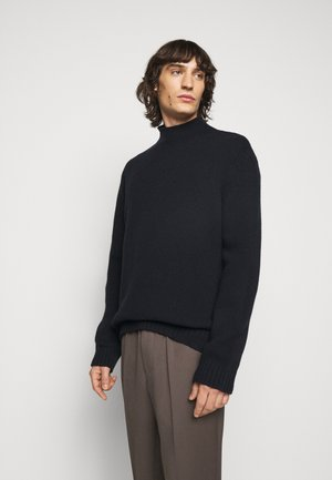 MIX TATE TURTLENECK  - Strickpullover - navy