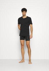 Nike Underwear - CREW NECK 2 PACK - Aluspaita - black - 0