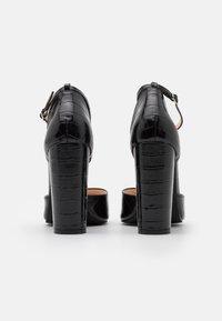 RAID - MAHI - Escarpins à talons hauts - black - 3