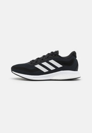 SUPERNOVA  - Neutral running shoes - core black/footwear white/halo silver