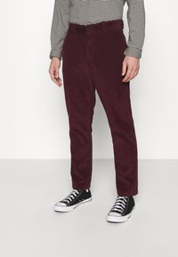 Dickies - FORT POLK - Trousers - maroon - 0