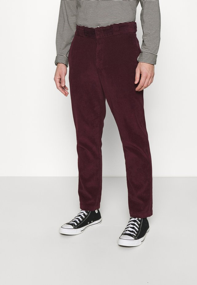 FORT POLK - Trousers - maroon