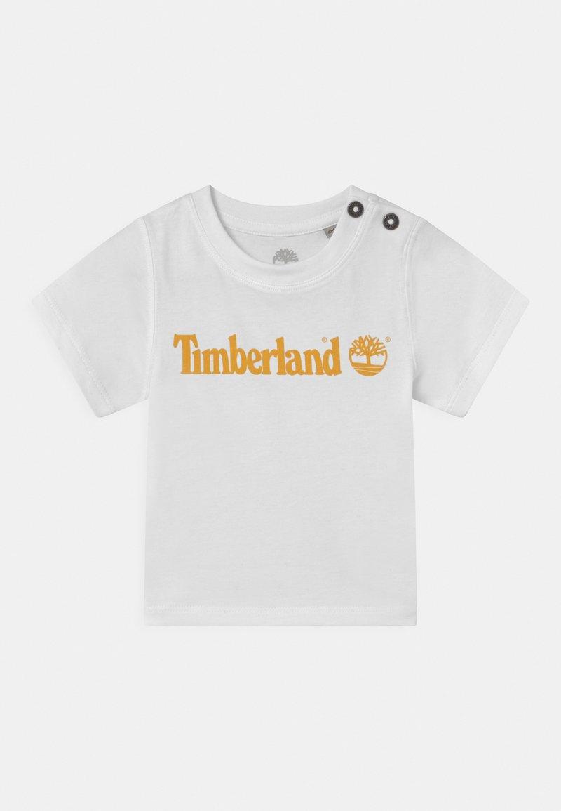 Timberland - SHORT SLEEVES  - T-shirt print - white