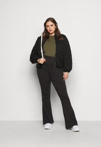Even&Odd Curvy - Trousers - black - 1