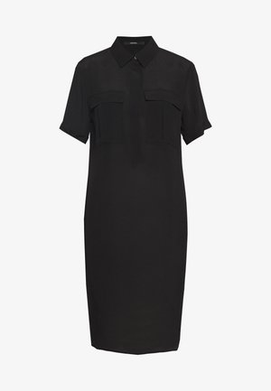 QUINTON - Shirt dress - black