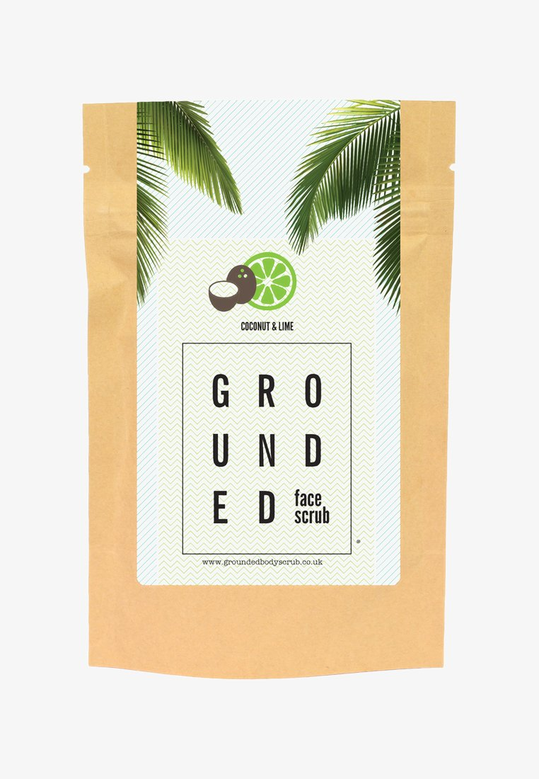 Grounded - FACE SCRUB 60G - Face scrub - green/coconut & lime