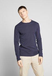 Esprit - Long sleeved top - navy - 0
