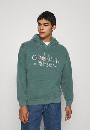 MENNACE GROWTH HOODIE - Sweatshirt - green