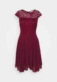 WAL G. - PEYTON SKATER DRESS - Cocktail dress / Party dress - burgundy - 4