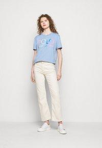 Polo Ralph Lauren - Print T-shirt - chambray blue - 1