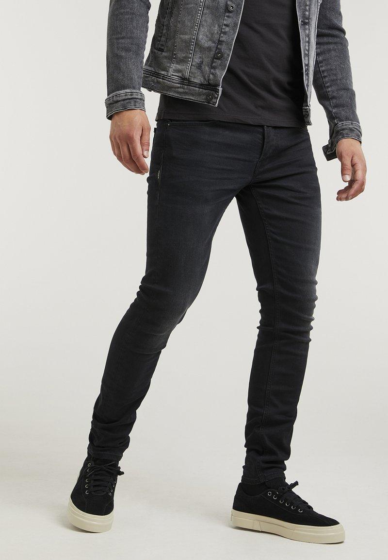 CHASIN' - EGO  - Slim fit jeans - black