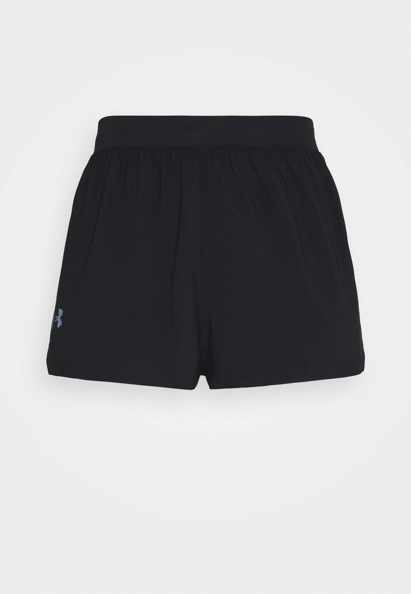 Under Armour - LAUNCH SPLIT SHORT - Sports shorts - black