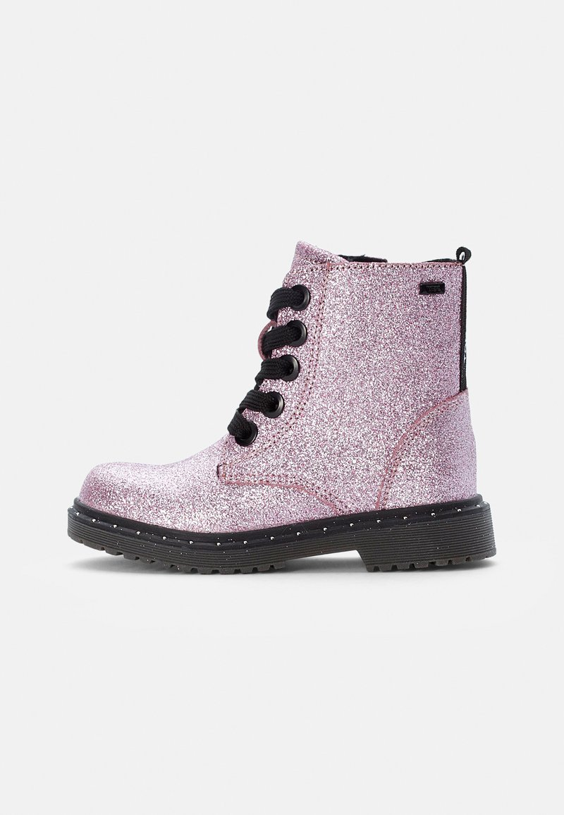 TOM TAILOR - Lace-up ankle boots - rose