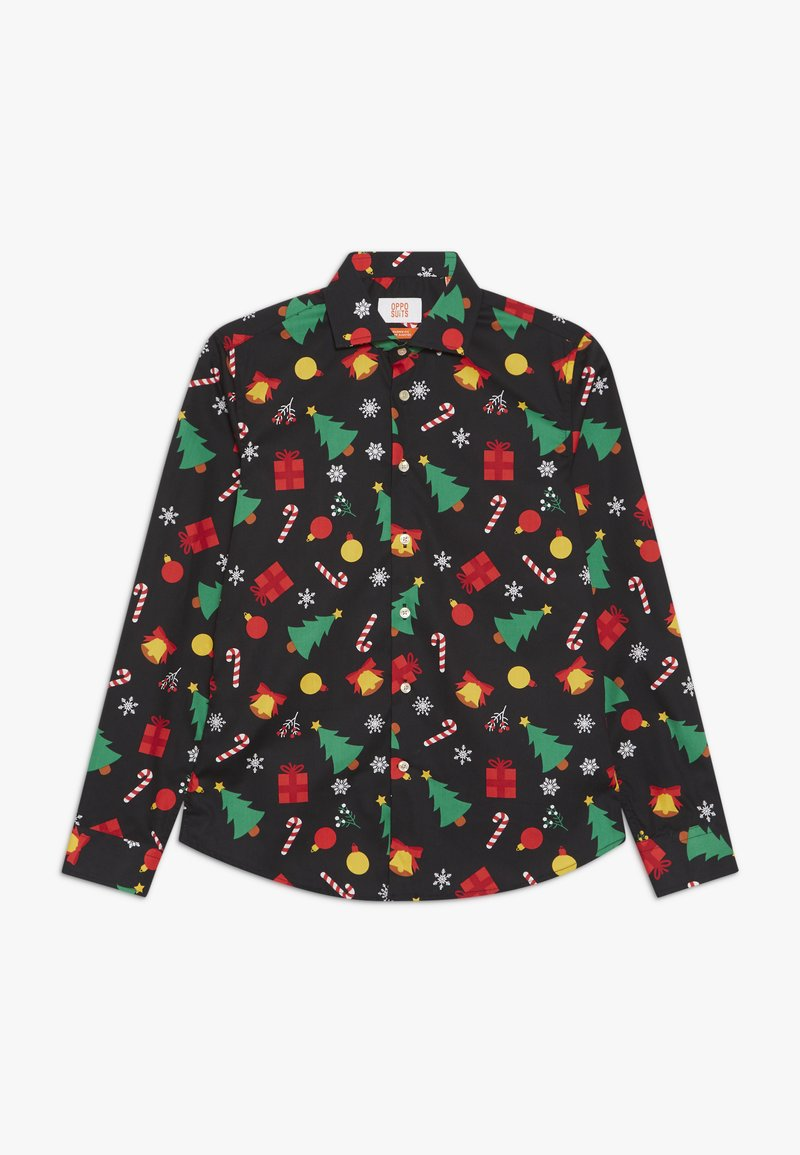 OppoSuits - TEENS CHRISTMAS ICONS - Shirt - black