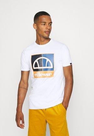 SALUS TEE - T-shirt z nadrukiem - white