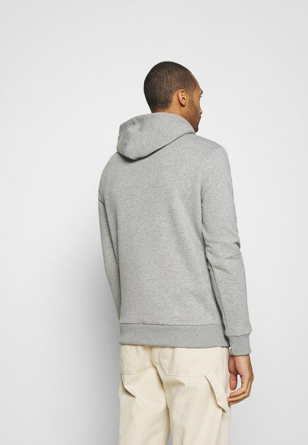 CLOSURE London BOX LOGO HOODY - Bluza z kapturem - grey/szary Odzież Męska WFLT