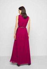 Lauren Ralph Lauren - GRACEFUL LONG GOWN - Vestido de fiesta - modern dahlia - 2