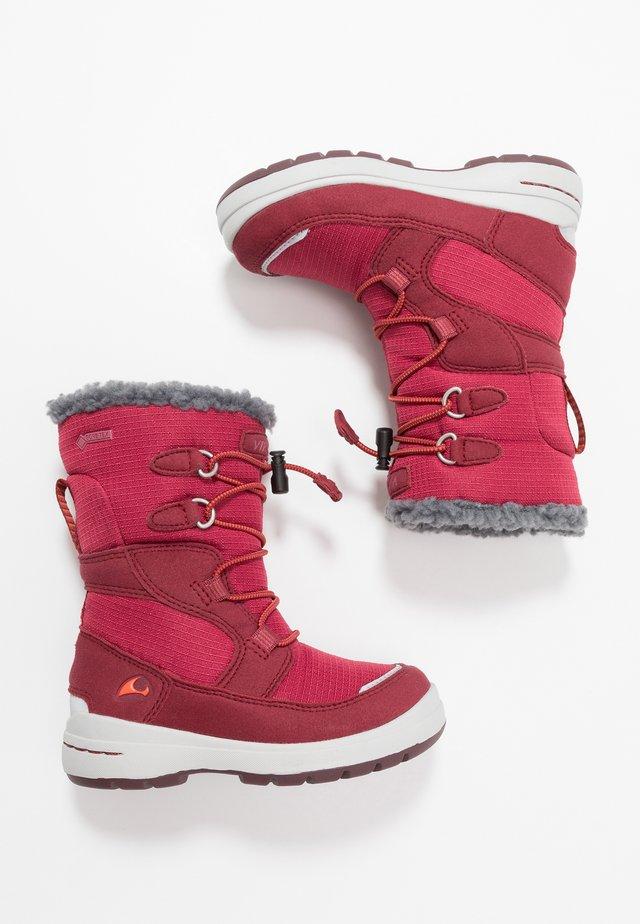 TOTAK GTX - Śniegowce - dark red/red