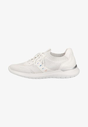 Sneakers laag - weiss glam silber multi bianco