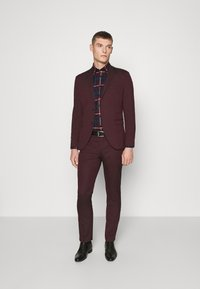 Selected Homme - SLHSLIM-MYLOLOGAN SUIT - Traje - winetasting - 1